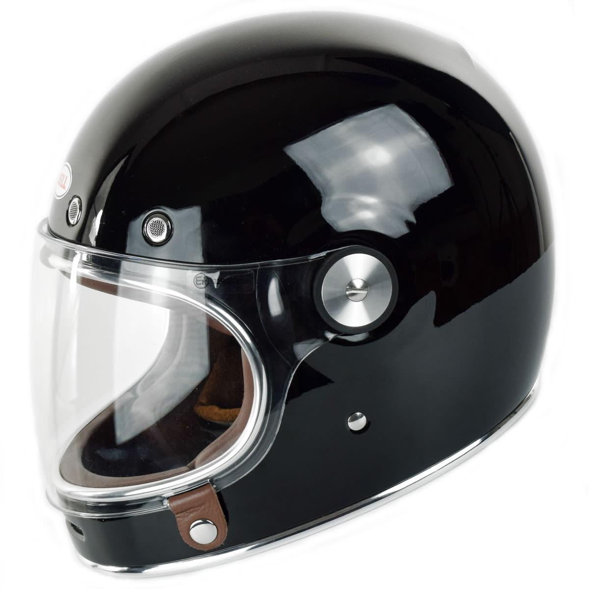 BELL Bullitt Helmet Solid Black BELL HJELME Aros Speedshop